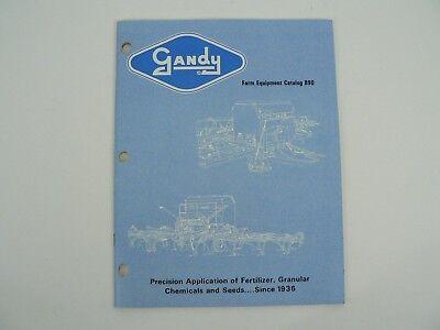 Vintage Gandy Company Farm Equipment Catalog 890 Owatonna Mn Agricultural