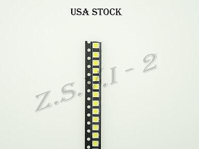500pcs Ultra Bright 3528 Led Smd White Chip Surface Usa Stock