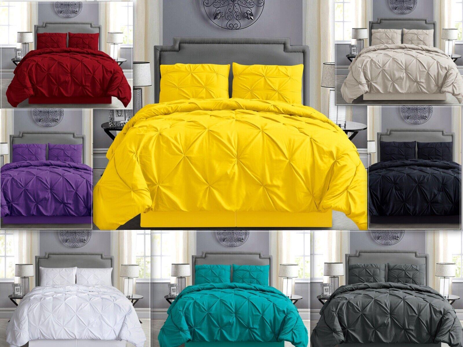 empire home pintuck hypoallergenic 4 piece comforter