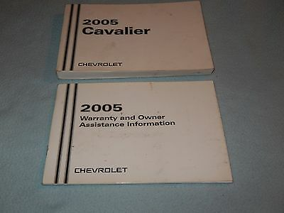 2005 Chevrolet Cavalier Owners Manual Chevrolet Cavalier Owners Manual