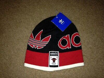 Adidas Originals Chicago Bulls windy city Beanie hat NWT