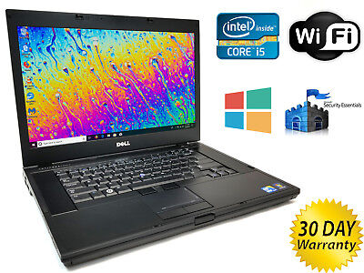 Refurbished Laptop Pc - LOT 2x Dell 15.6