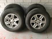Ford ranger rims and tyres x5 Clarence Gardens Mitcham Area Preview