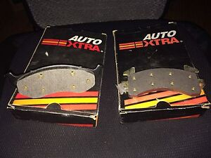 2 sets of unused brake pads