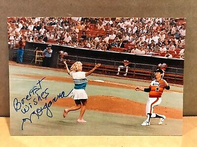 MORGANNA THE KISSING  BANDIT Authentic Hand Signed Autograph 4x6 Photo