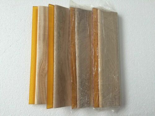 Screen Printing Equipment :13 inch (33cm) Oiliness Squeegee 4pcs 75 durometer