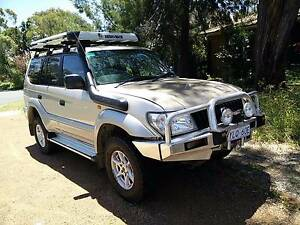 2002 Toyota LandCruiser Prado GXL 4x4 Wagon Fisher Weston Creek Preview