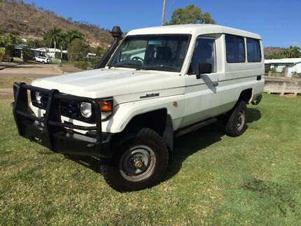 >> YOURS FROM $190 P/WEEK << 2000 TOYOTA LANDCRUISER HZJ78R WAGON Mount Louisa Townsville City Preview
