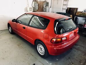1995 Honda Civic CX hatchback