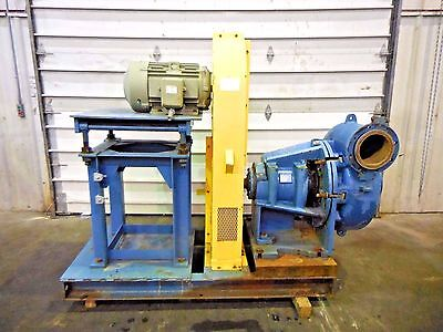 Rx-3604 Metso Mm250 Lhc-d C5 10 X 8 Slurry Pump W 15hp Motor And Frame