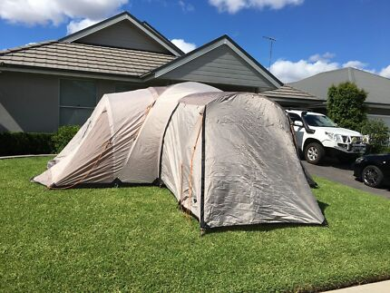 DIAMANTINA - Drysdale 9 Extended 4 room dome tent & Diamantina Drysdale 9 Dome Tent | Camping u0026 Hiking | Gumtree ...