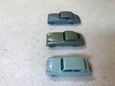 Matchbox Lesney 3 Gray Wheels Cars Ford Anglia, Aston Martin, Rolls Royce