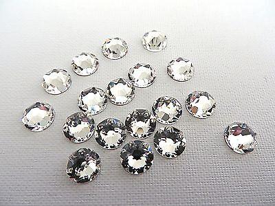 Ss10 Crystal (Clear Crystal Swarovski Flatback Rhinestones 5ss 6ss 7ss 9ss 10ss 12ss 16ss 20ss )