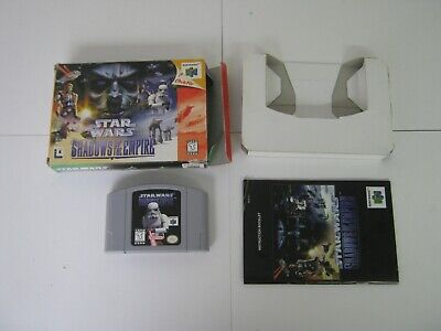 Nintendo N64 Pal STAR WARS SHADOWS OF THE EMPIRE 297