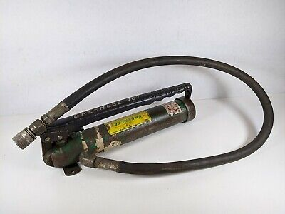 Greenlee 7308 Hydraulic Knockout Punch And Die Porta Power For 767 Slug Buster