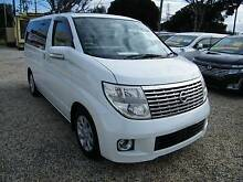 2007 Nissan Elgrand (#0155) 3,5L Highway Star Double Sun Roof Moorabbin Kingston Area Preview