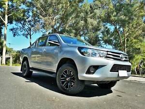 (Toyota Hilux) Maximus 17x8.5 Wheels and Falken 265/65-17 Tyres Mitcham Whitehorse Area Preview