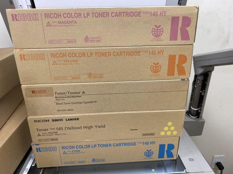 5 Boxes OEM Savin Ricoh Lanier Type 145  HY Copier Toner !