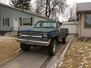 86' Chevy K-10 454 trade for quad with snow blade