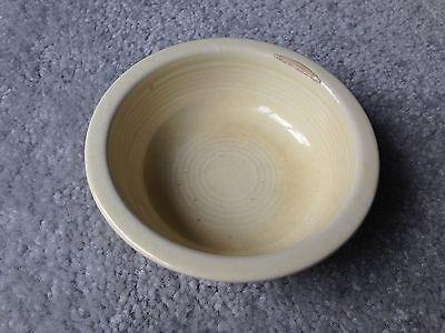 (Vintage Fiesta White Ivory Glaze 4 3/4