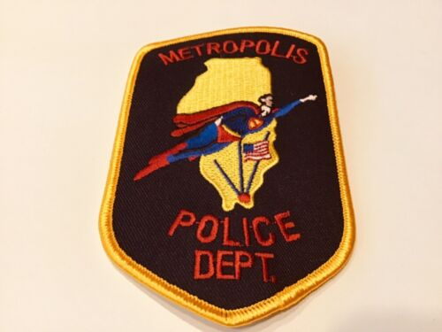 METROPOLIS POLICE PATCH