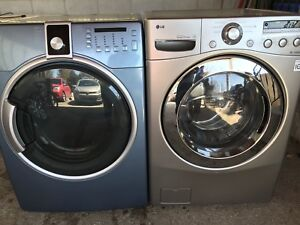 LG Inverter Direct Drive Washer and Kenmore Dryer