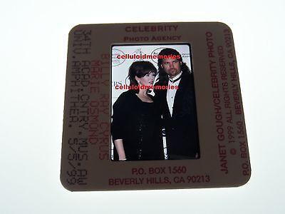 Original Photo 35mm Slide Billy Ray Cyrus & Marie Osmond # 9