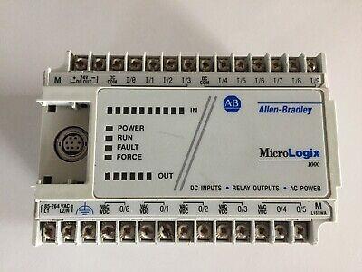 Allen-bradley Programmable Logic Controller 1761-l16bwa Ser E - Micrologix 1000