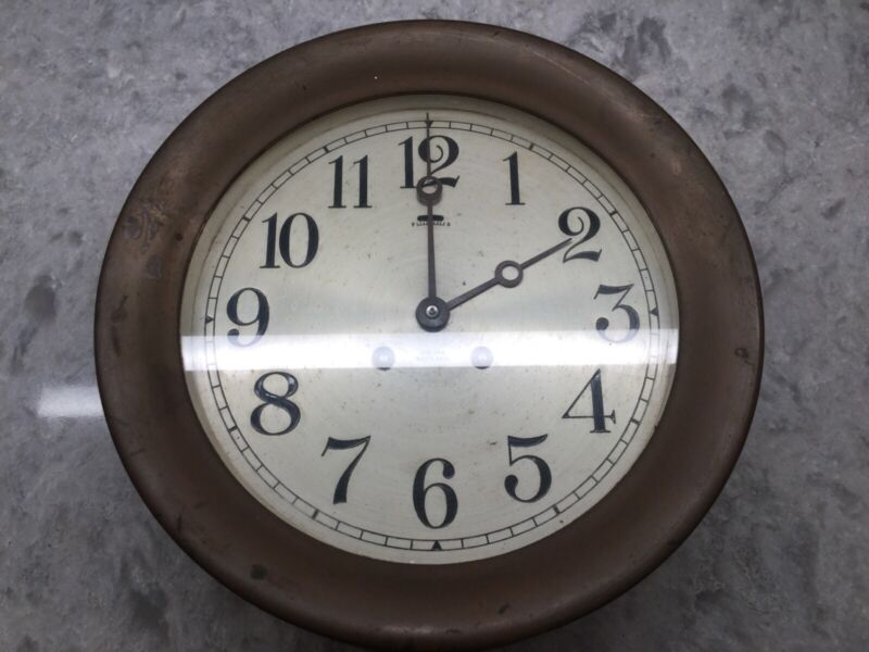 CHELSEA SHIPS CLOCK 8.5 Inch 1940-1944