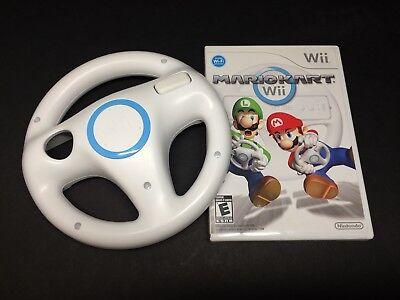 Mario Kart (Nintendo Wii ) Game & Wheel.