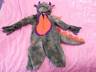 NEW Baby Infant Dragon Halloween Costume Koala Kids Hood Zip Up Padded Size 12M](Koala Halloween Costume Baby)