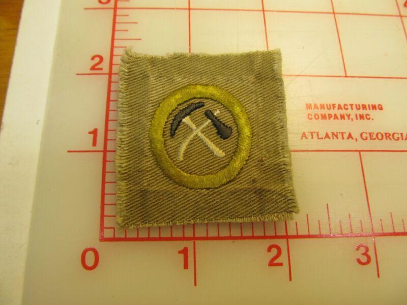 Square Type AA PIONEERING merit badge sash patch (g12)