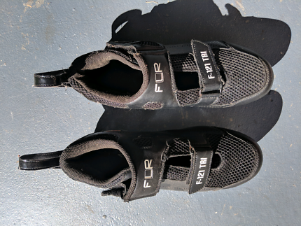 Ladies clip in FLR cycling shoes, size 40