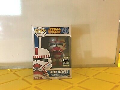 Star Wars Funko Pop 42 Galactic Convention Exclusive rare in box