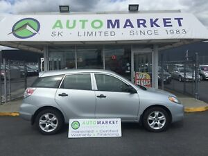 2006 Toyota Matrix AUTO! WARRANTY! WE FINANCE EVERYONE!