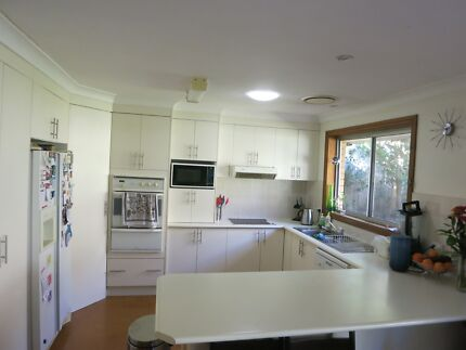 Kitchen bench top, cupboards, oven, stove and range hood for sale Pennant Hills Hornsby Area Preview