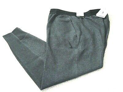 Nike Mens Dry Fit Yoga Jogger Athletic Pants Black Heather Grey Tapered Leg NWT