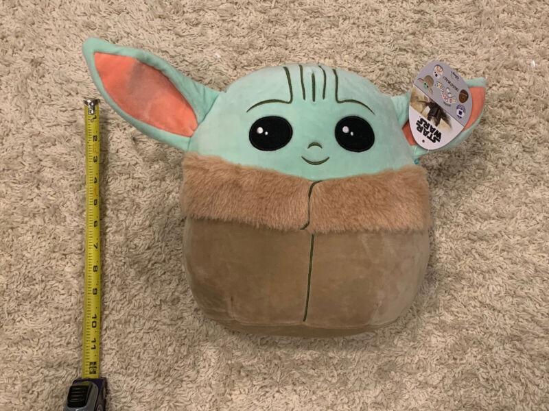 Star Wars Baby Yoda 10 Inches Mandalorian The Child Squishmallow Soft Plush
