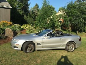 Mercedes Benz 2004 SL55 AMG Convertible