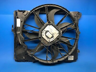 07-11 BMW E82 E90 E92 128I 328I N51 SULEV ELECTRIC COOLING FAN SHROUD MOTOR OEM