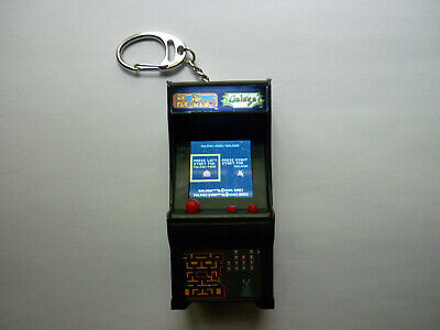 Super Impulse Tiny Arcade Cracker Barrel Ms PacMan Galaga Dig Dug Combo Keychain