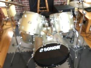 Five piece drum kit