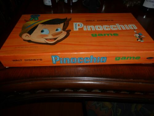 1962 WALT DISNEY PRODUCTIONS Pinocchio Game by Whitman VINTAGE