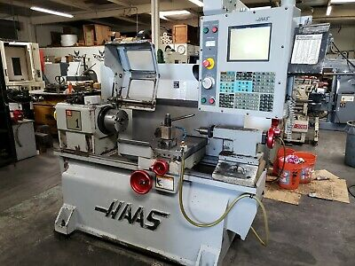 Haas Tl-1 Cnc Flat Bed Lathe Turning Center. Usb Tooling Loaded 2006
