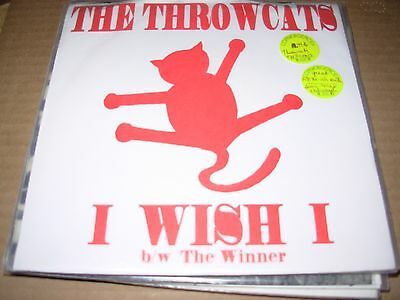 Throwcats I Wish   Winner   Rock     7    45   Picture Sleeve   Red