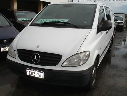 2005 Mercedes-Benz Vito LWB Van TURBO DIESEL Maddington Gosnells Area Preview