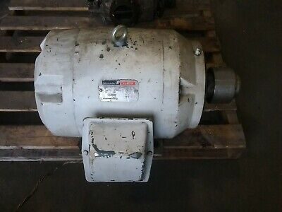 Reliance P28g5556c G2 Xq 15 Hp 3 Phase 230460 1175 Rpm Electric Motor 101taw