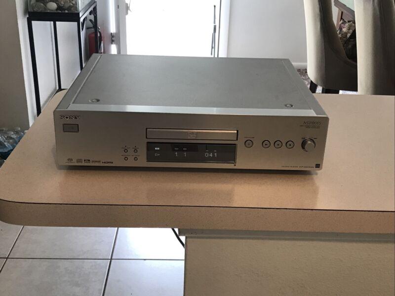 Sony Super Audio CD/DVD Player