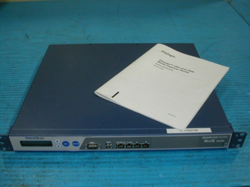 Smith Micro Software Quicklink Gateway Appliance NXG 500 NSA1045L2.8 Used J8