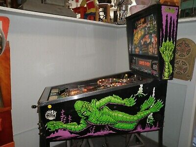 Bally.......Creature From The Black Lagoon Pinball Machine.........